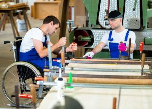 People with disabilities in the business